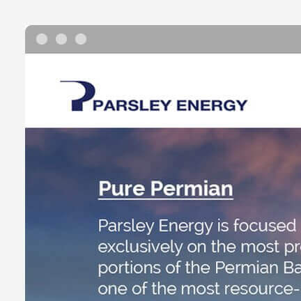parsley-energy
